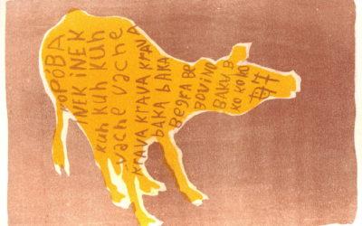 Bram boeckhout. Kopóba geel, 2006. Litho, 25 x 18 cm